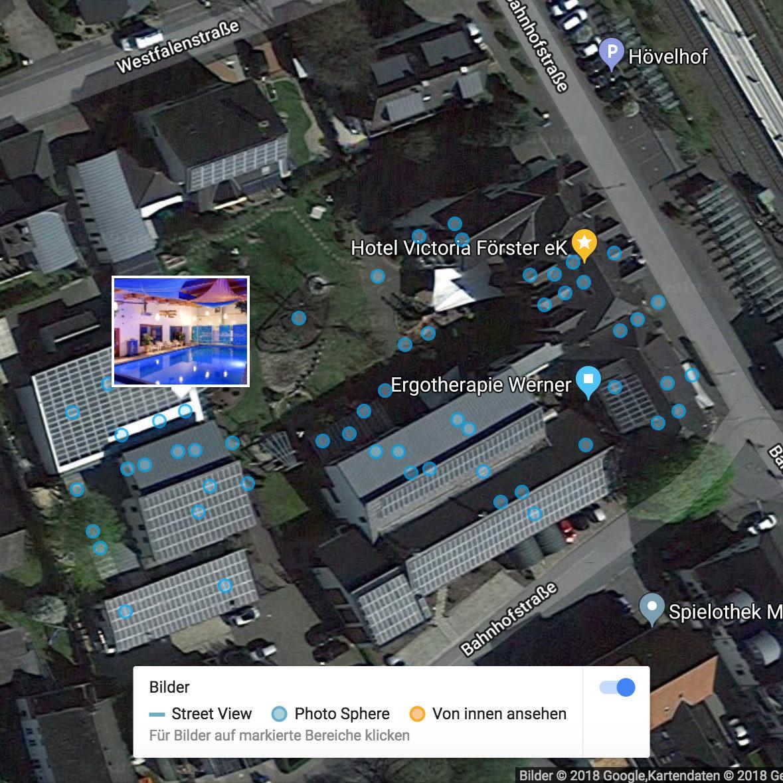 Google Maps - StreetView (Karte-Zoom)